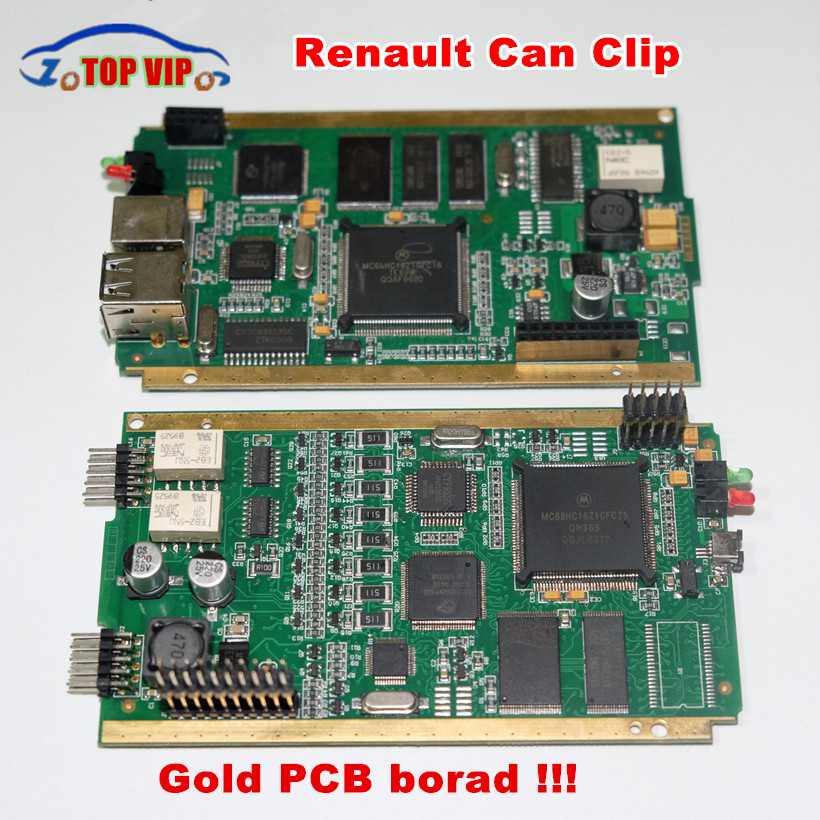 Discount!!Newest V168/V175 For Ren-a-ult Can Clip Full Chip Gold CYPRESS AN2135SC/2136SC Chip + NEC Relay OBD2 Diagnostic-Tool майка классическая printio фарго fargo