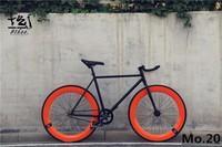1 peça fixie bicicleta engrenagem fixa bicicleta 46cm 52cm 56cm diy única velocidade estrada bicicleta trilha fixie bicicleta fixie|speed road bike|road bike|fixed gear bike -