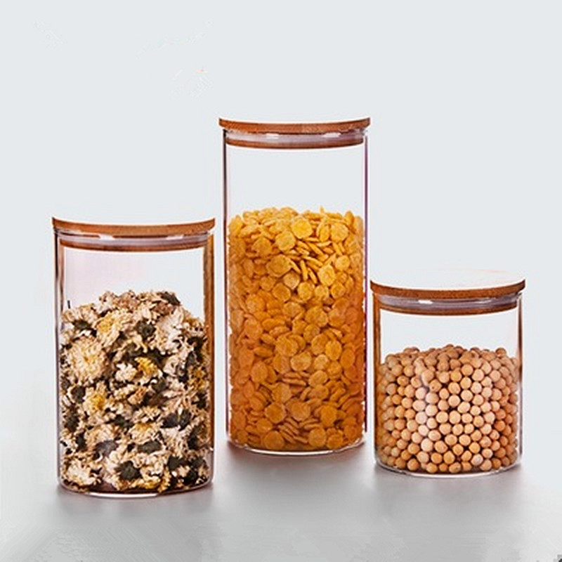 Top Quality Gl Jars For Storage Container Pickles Tea
