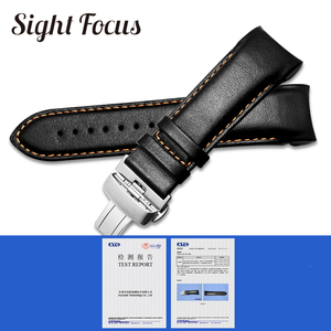 Image 2 - Originele Kalfslederen Mannen Horlogeband 1853 Voor Tissot Horloge Band T035410A 407A Couturier 22 23 24Mm Horlogebanden Riem armband