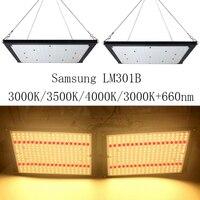 Супер яркий 120 Вт 240 Вт светодиодный свет для выращивания квантовой платы полный спектр samsung LM301B SK 3000 K 3500 K 4000 K 660nm Meanwell драйвер DIY