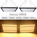 Super brillante 120 W 240 W Led crecen la luz cuántica de espectro completo Samsung LM301B SK 3000 K 3500 K 4000 K 660nm Meanwell conductor DIY