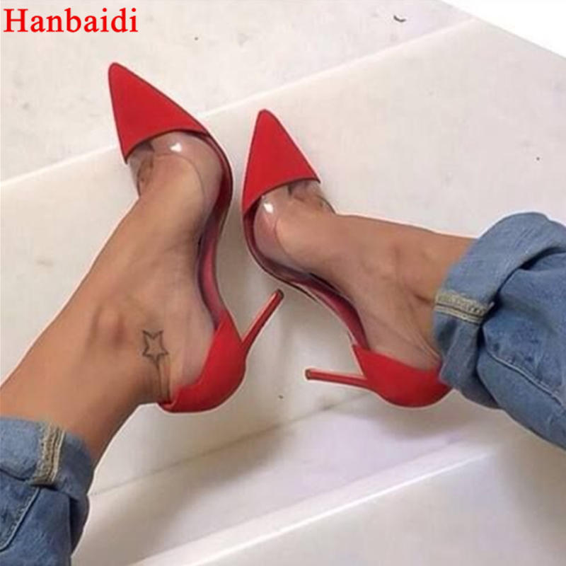 Hanbaidi So Nice Kate Leopard Pumps Sexy Women High Heels Party Shoes Pointed Toe High Heel Wedding Shoes Ultra Thin High Heels 2018 women yellow high heel pumps pointed toe metal heels wedding heel dress shoes high quality slip on blade heel shoes