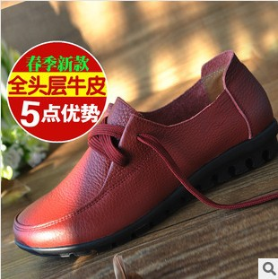 Big size 2014 casual women loafers gommini soft outsole flat single shoes female driving Ballet Flats - China GaGa Fancygoods Mall store