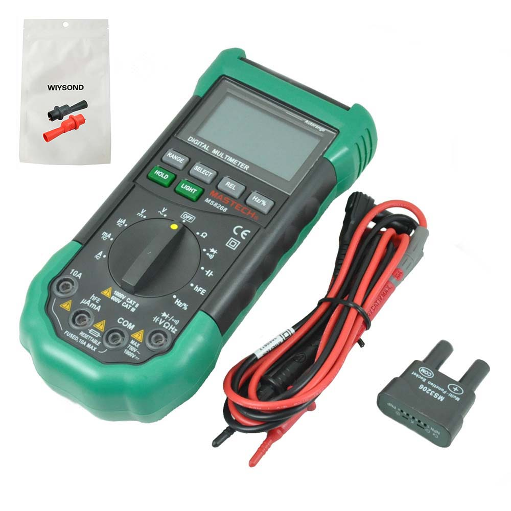 Multimeters M018 Vici Vc87 For Motor Drives Tester Vsd Duty True Rms Auto Range Digital Multimeter Less Expensive