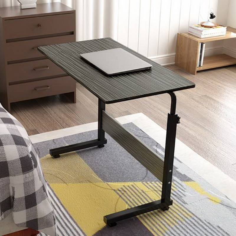 250323/High quality wood/Fold lazy / simple / study desk/Bed computer desk /Thickened panel/Laptop desk /