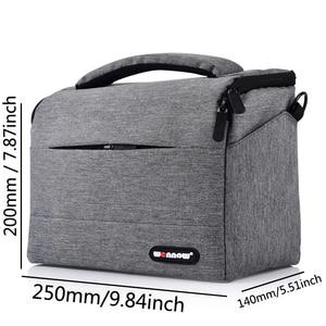 Image 4 - Wennew Foto Abdeckung DSLR Kamera Tasche SLR Fall für Nikon D7500 D750 D7200 D7100 D3400 D3300 D3200 D3100 D3000 P100 l840 L830