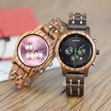 BOBO BIRD Women Watches Luxury Chronograph Date Quartz