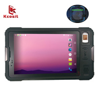 original P9000 Fingerprint Reader Access Control USB Tablet PC Android Rugged Terminal 8 inch Screen Waterproof PDA NFC RFID GPS