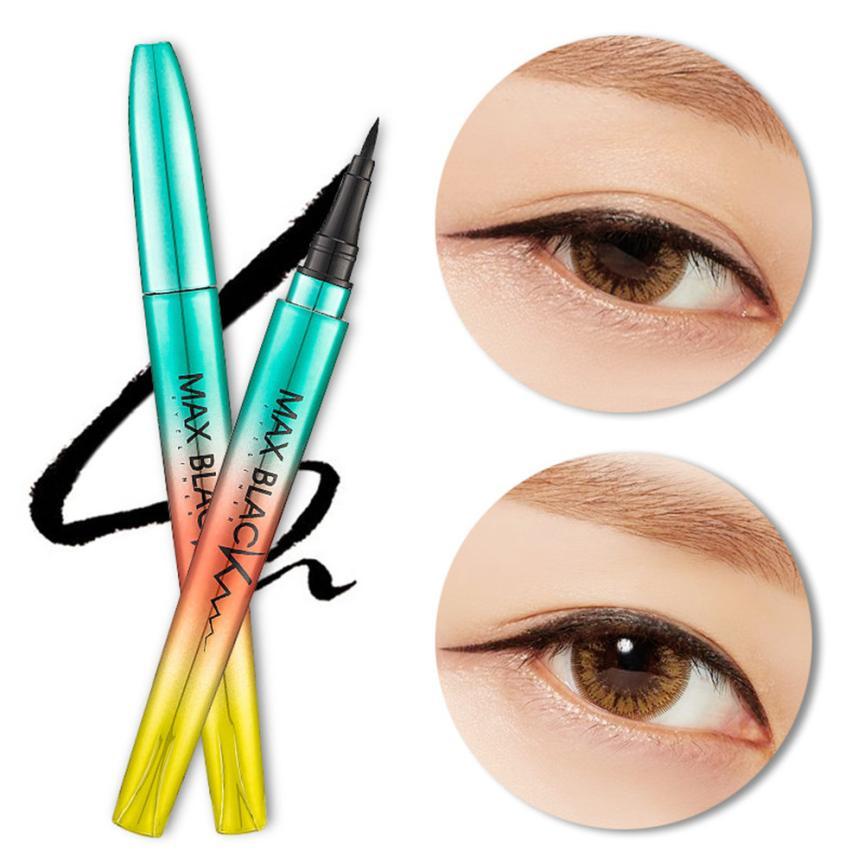 Beginners Black Waterproof Eyeliner Make Up Beauty Comestics Long-lasting Eye Liner Pencil foundation Makeup tools for Eyeshadow