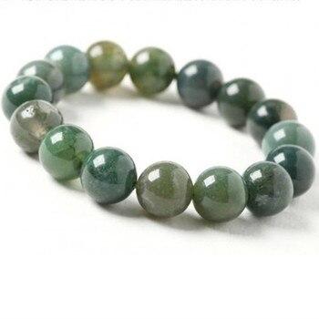 Bracelet Jaspe Vert Pour Femme