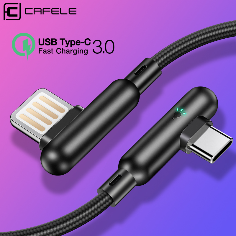CAFELE USB Type C Cable Fast Charging USB C Cable For Samsung Huawei Xiaomi Oneplus LG Mobile Phone Type c Charge Wire 120cm in Mobile Phone Cables from Cellphones Telecommunications