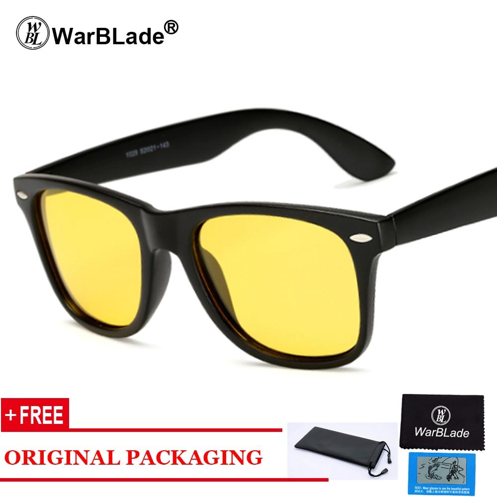 WarBLade 옐로우 나이트 비전 선글라스 브랜드 - 의류 액세서리