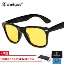 WarBLade Κίτρινα γυαλιά ηλίου Night Vision Ανδρών Τετραγωνικά καθρέφτη Sun Glasse με λογότυπο μάρκας Luxury Eyewears UV400 Goggles Αρσενικό 1029