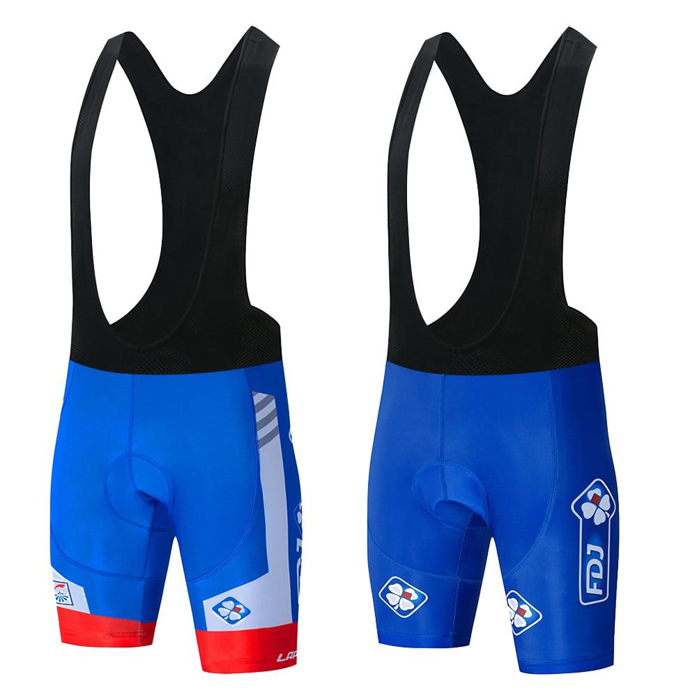 2019 fdj  Cycling jersey 9D gel bike shorts sets mens Ropa Ciclismo Maillot Culotte biycling top bottoms bib shorts