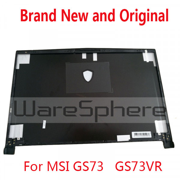New and Original LCD Rear Lid Back Cover For MSI GS73 GS73VR Rear Case 3077B5A213 3077B1A222 gzeele new for dell precision 17 7710 7720 m7710 m7720 top cover a case switchable lcd back cover n4fg4 0n4fg4 lcd rear lid case