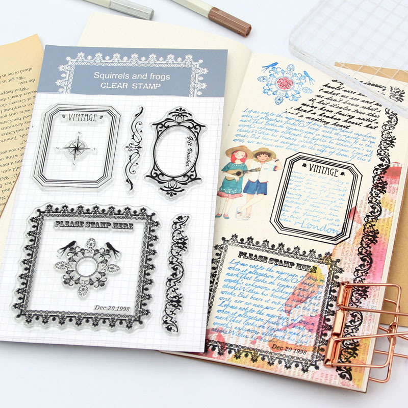 1Pcs Alphabet Transparent Silicone Clear Rubber Stamp Cling Diary Scrapbooking DIY Making Photo Album Paper Card Craft Decor clothes rack and telephone set for clear stamp designs scrapbookin photo album paper card silicone stamp craft rm 246