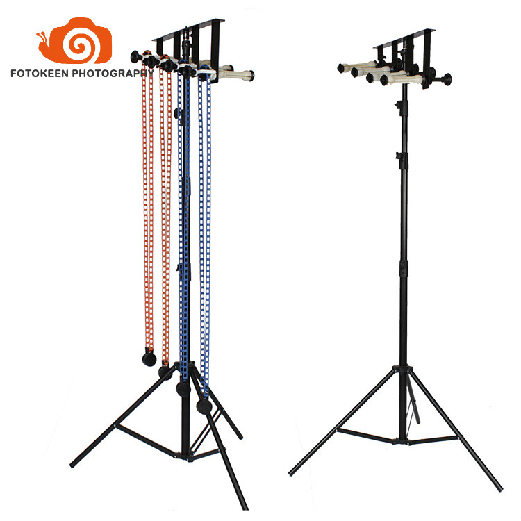 Free photo studio manual background stand-4rolls Manual wall/ Ceiling Mount Manual Elevator Background Backdrop Support System photographic background support elevator ng 3w manual control studio background support manual three shaft background cd50