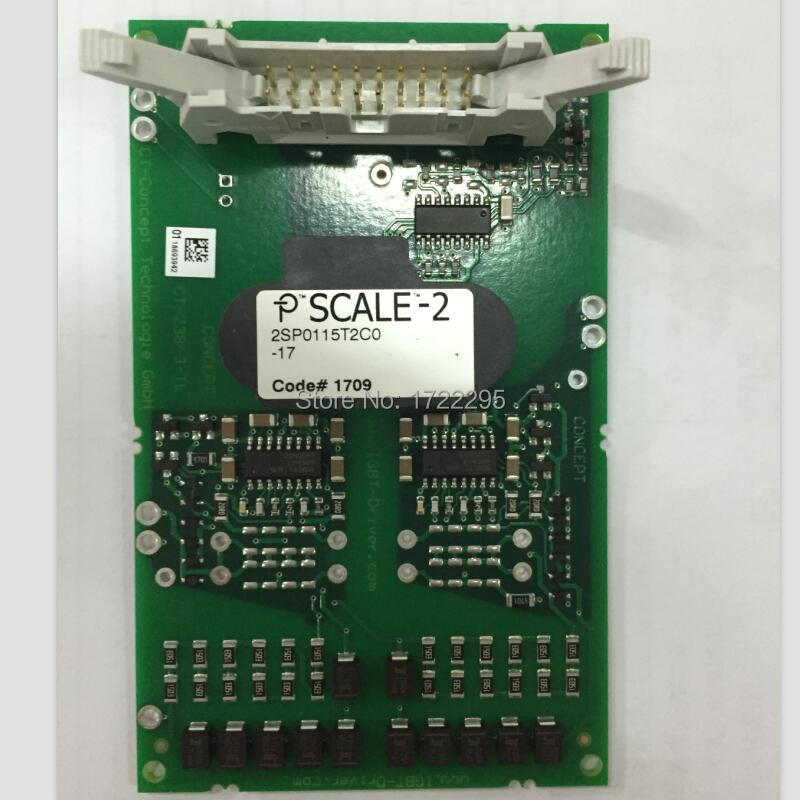 New and Original 2SP0115T2C0-17 compact dual-channel intelligent gate SCALE-2 driver designed for 1200V 17mm dual IGBT modules semikron semikron skm100gb128d skm100gb123d original new igbt modules
