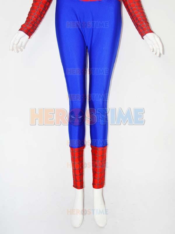 Qadın versiyası Aşağı Boyunlu Hörümçək Kostyum Spandex - Karnaval kostyumlar - Fotoqrafiya 5