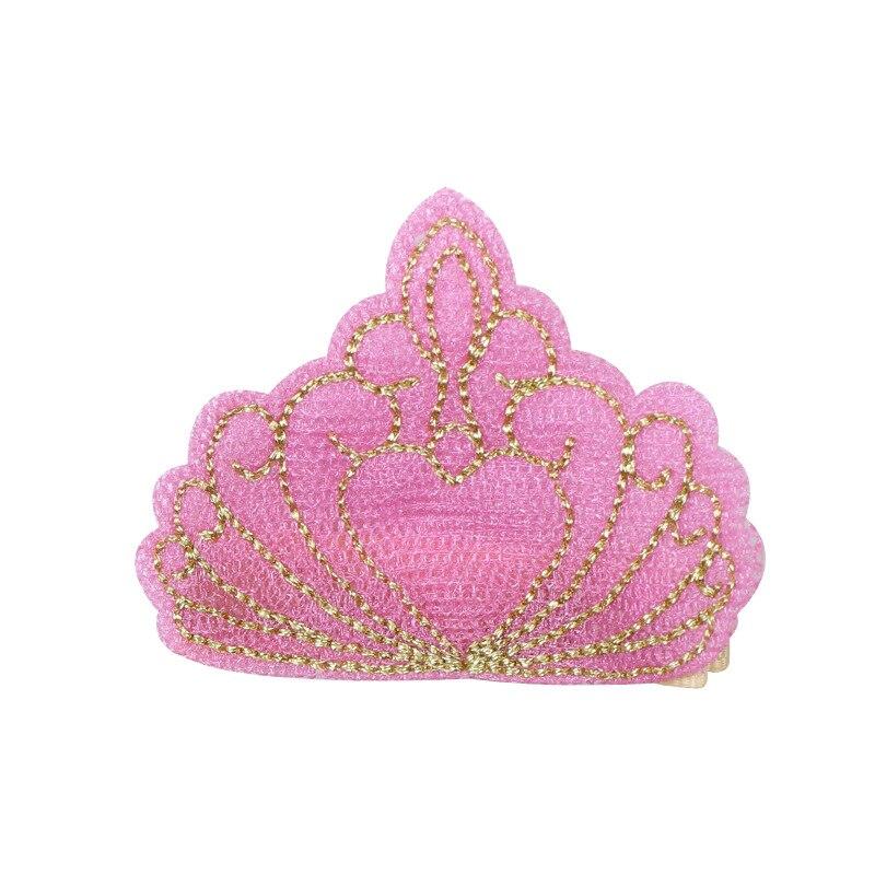 10pcs / lot hoge kwaliteit borduurwerk kroon haarspeldjes baby - Babykleding - Foto 5