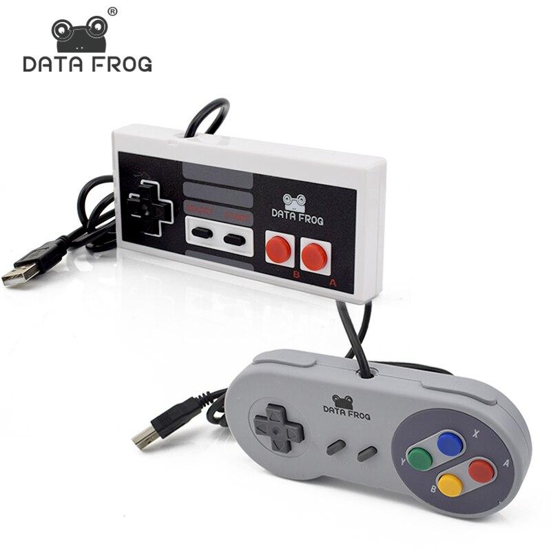 Retro Wired USB Controller Für SNES Gamepad Joystick Für PC/Mac Gaming Joysticks Für NES Joypad Kompatibel mit fenster 7/8/10