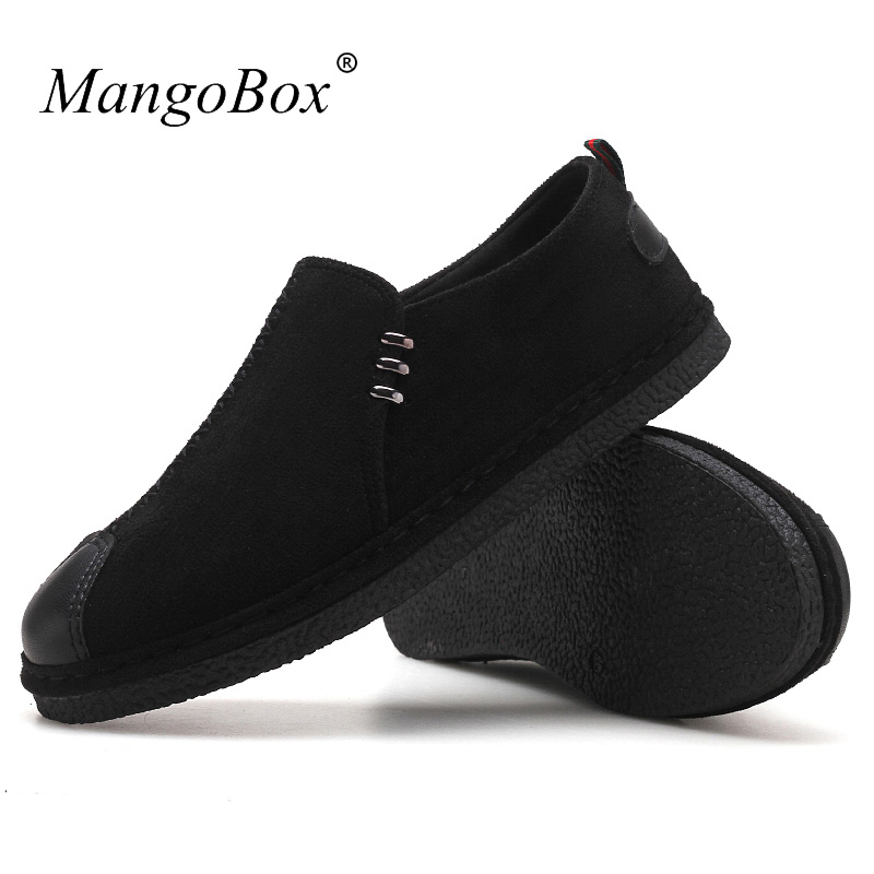 New Arrival Middle Aged Men Shoes Casual Non-Slip Mens Loafers Shoes - Men's Shoes - Photo 5