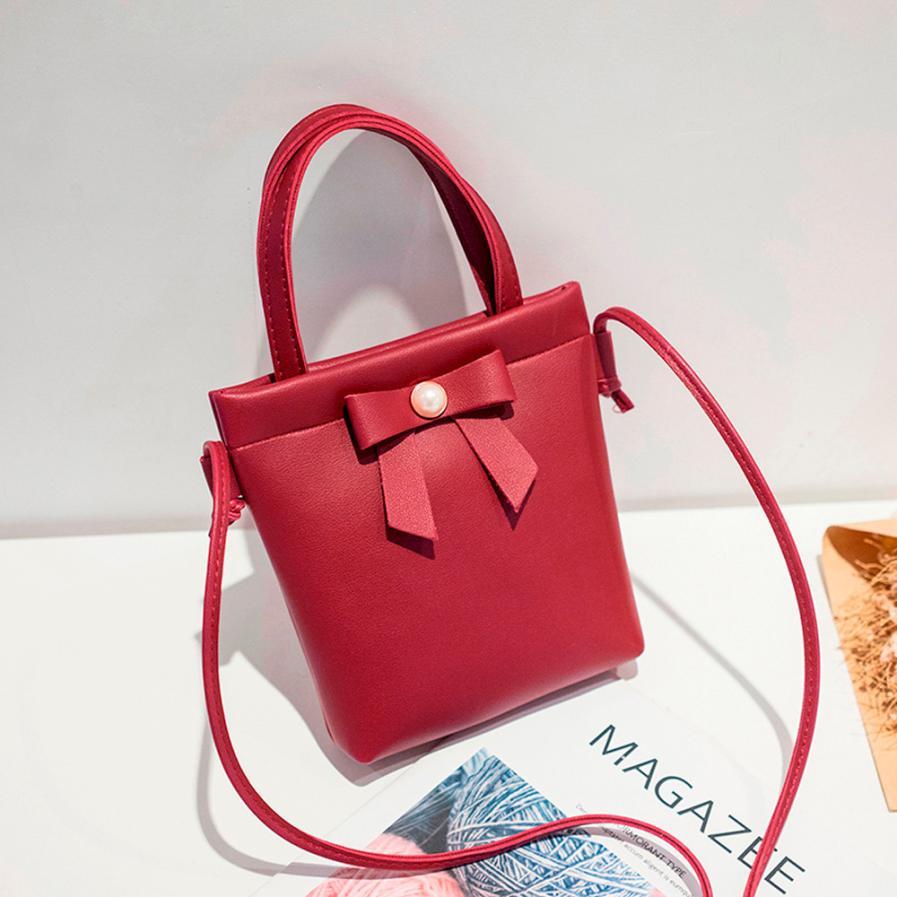 Женская Мода из PU искусственной кожи с открытым сумка через плечо сумка Ms. однотонная одежда небольшой площади сумка # F