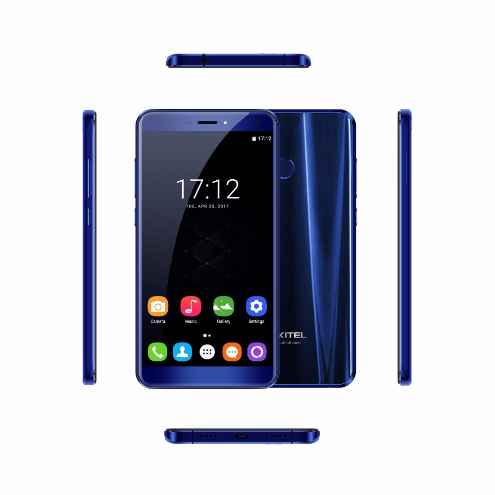 Oukitel U11 Plus Android 7.0 Mobile Phone MTK6750T Smartphone Android Octa Core 4G RAM 64G ROM Fingerprint 5.7 3700mAh 4G LTE