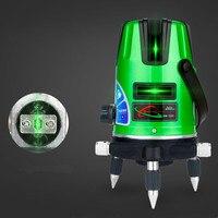 2 Lines 360 Self leveling Green Laser Level Cross Laser Nivel A Laser Construction Tools