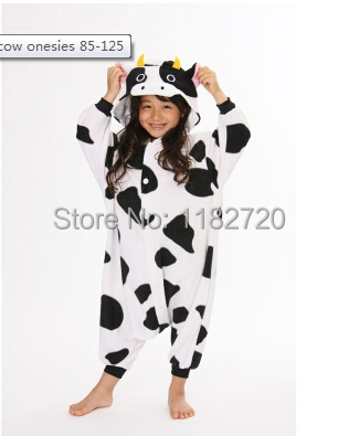 free shipping Cow Onesie Kids Animal Fancy Dress Costume Toddlers Onesie kids new autumn/winter sleep wear size 85 125cm on Aliexpress.com | Alibaba Group  sc 1 st  AliExpress.com & free shipping Cow Onesie Kids Animal Fancy Dress Costume Toddlers ...