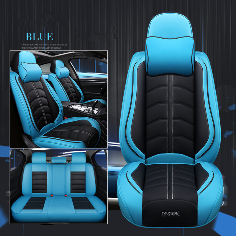 5D car seat cover 5Seats( Front+Rear) car styling For Toyota Camry 40 RAV4 Verso FJ Land Cruiser LC 200 Prado 150 120,Car pad-in Automobiles Seat Covers from Automobiles & Motorcycles    1