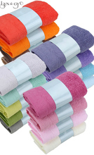 2017 Solid Business 34*75cm Soft 100% Cotton Face Towel Quick Dry hand Towels free shipping T005 3pcs/set цена