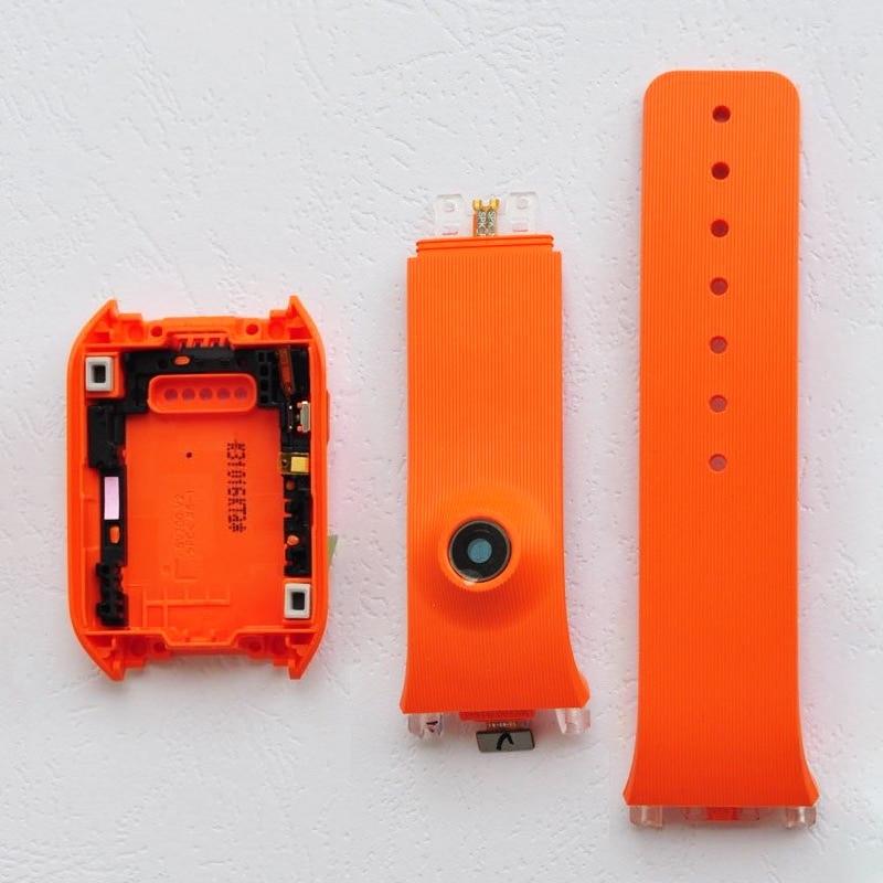 ZUCZUG For Samsung Galaxy Gear V700 SM V700 Back Cover Housing Door Rear Silicone Strap Band