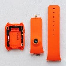 ZUCZUG для samsung Galaxy Шестерни V700 SM-V700 задняя крышка Корпус дверь сзади + силиконовый ремешок с Камера отверстие