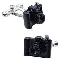 HAWSON персонализированные запонки в стиле цифровой камеры/DC черный/белый запонки для французских манжет/рубашки одёжное украшение подарок д...