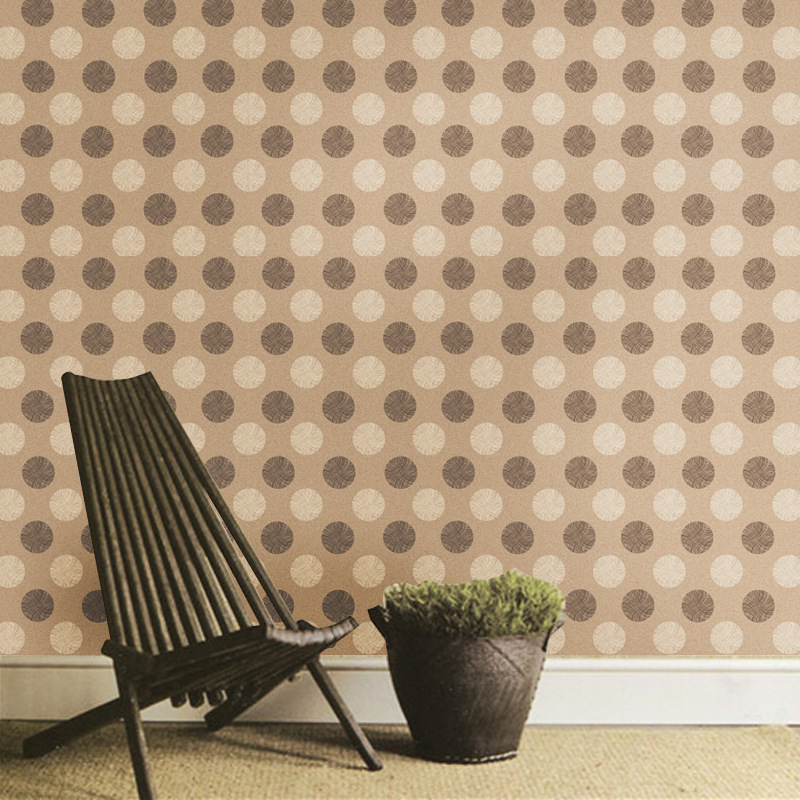 Photo Retro Wallpaper Wood Grain Living Rooms Home decor stickers self adhesive wall paper striped Roll SA 1016 in Wallpapers from Home Improvement
