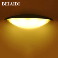 BEIAIDI 4W Waterproof Wall Lamp LED Wall Pack Outdoor Lighting IP54 Courtyard Wall Sconce Light Aisle Fence Villa Corridor Porch