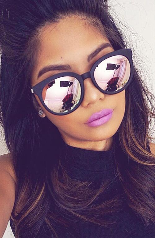 HTB180 APXXXXXXXXFXXq6xXFXXXm - Cat Eye Pink Mirror Square Sunglasses 2018 New Fashion