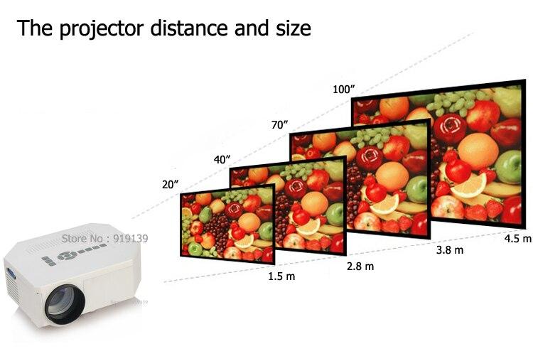 New Art 30 mini projector pic 9