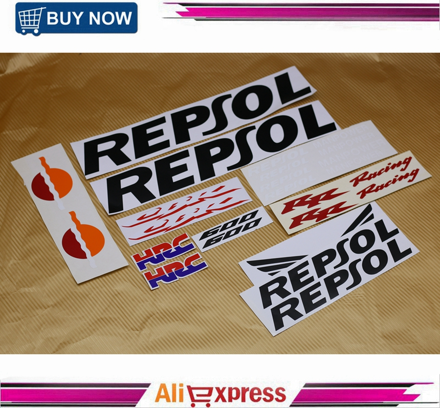 Motorcycle CBR 600 RR Racing Fairing Body Sticker Accessory For Honda CBR600RR 2003 2004 2005 2006 Repsol Decorative Decals