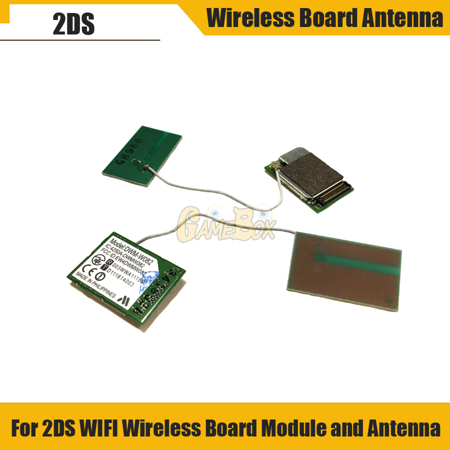 Original Wireless For Nintend 2DS WIFI Wireless Board Module And Antenna For 2DS   Replacement