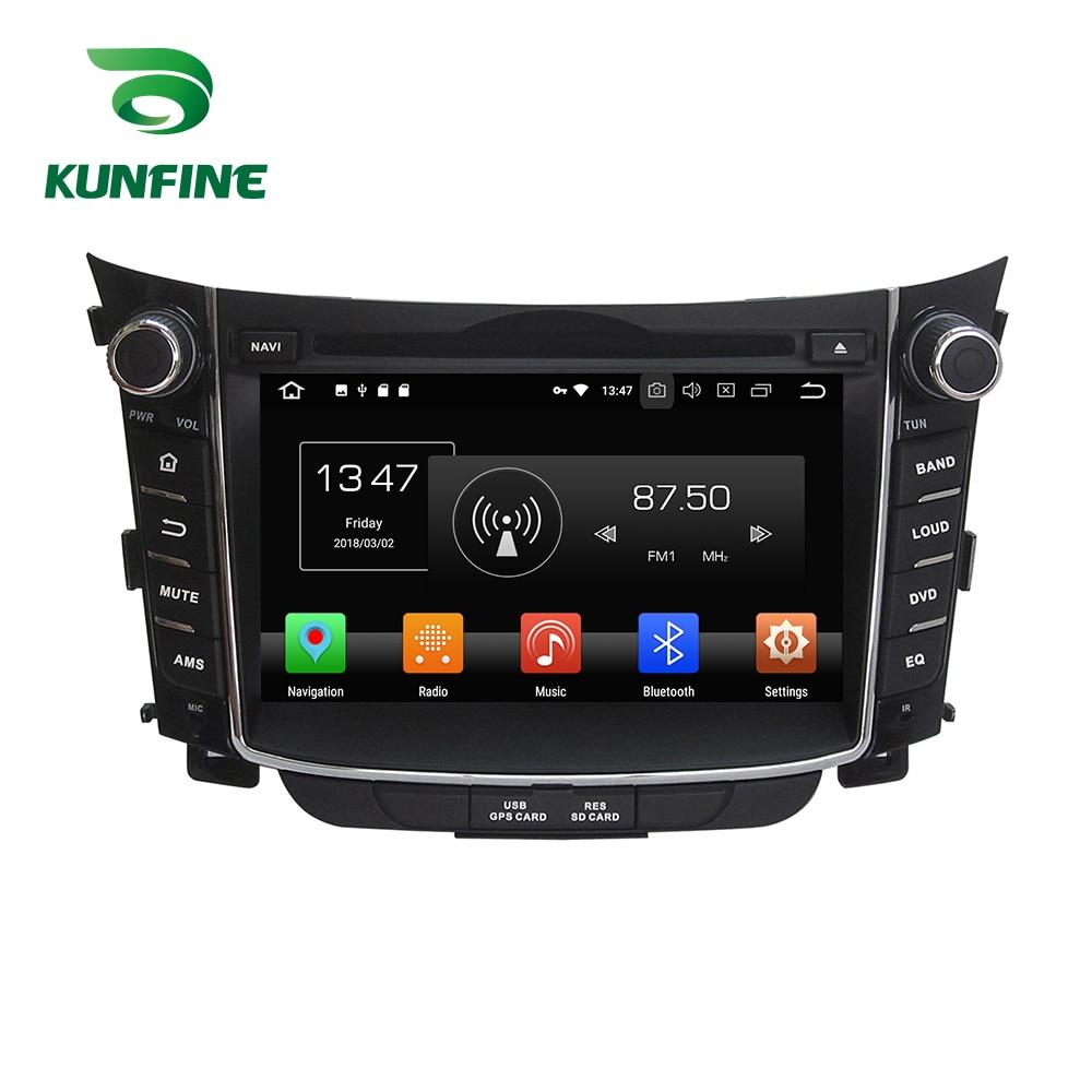 Octa Core 4GB RAM Android 8.0 Car DVD GPS Navigation Multimedia Player Car Stereo for HYUNDAI I30 2011-2016 Radio Headunit цена
