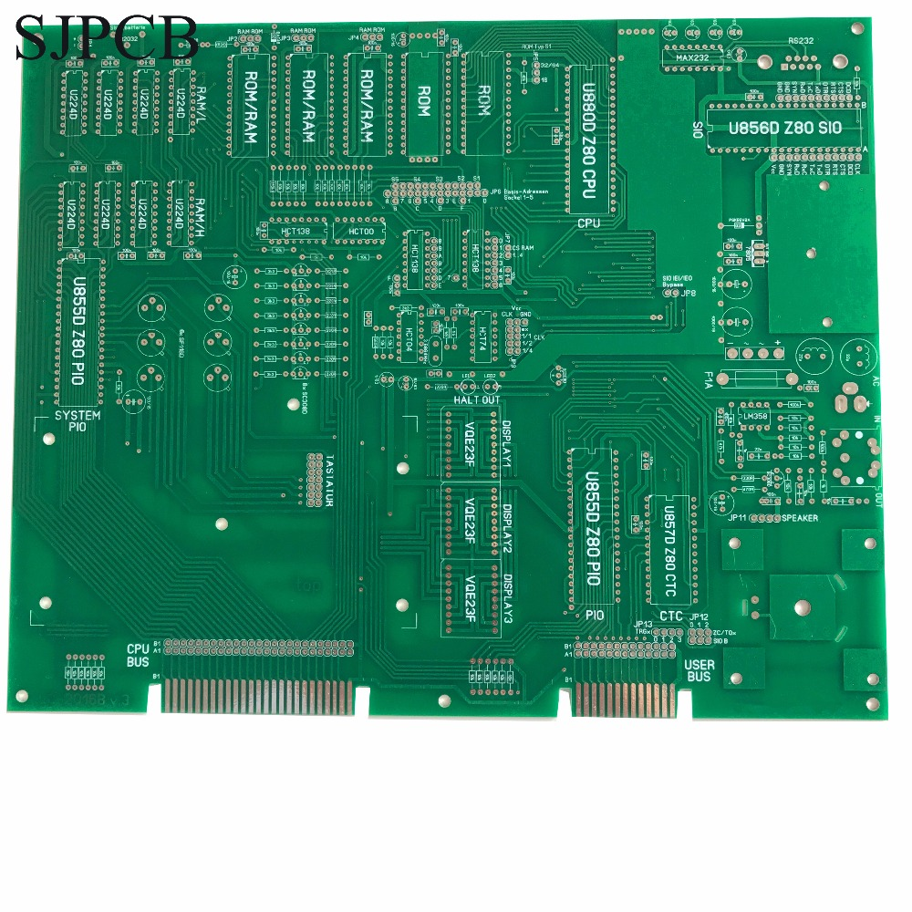 Fast Free Ship Custom 2 Layers Fr4 Pcb Board Gerber File Circuit Multilayer Printed Design Clone Manufacture Sjpcb Mother Mainboard Hasl Plated Tin 5pcs Small Quantity Order Supported Prototype Ordering