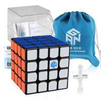 D FantiX GAN 460 M 460M 4x4x4 Magnetic Speed Cube Professional 4*4 Gan460 M Magic Cube Puzzle Fidget Educational Toys Gift