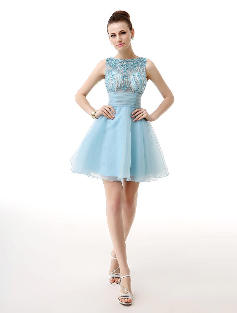 rhinestone short dress
