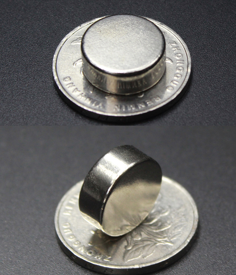 1PCS D15 6mm round N52 Strong magnetic force rare earth Neodymium magnet N52 diameter 15X6MM in Magnetic Materials from Home Improvement