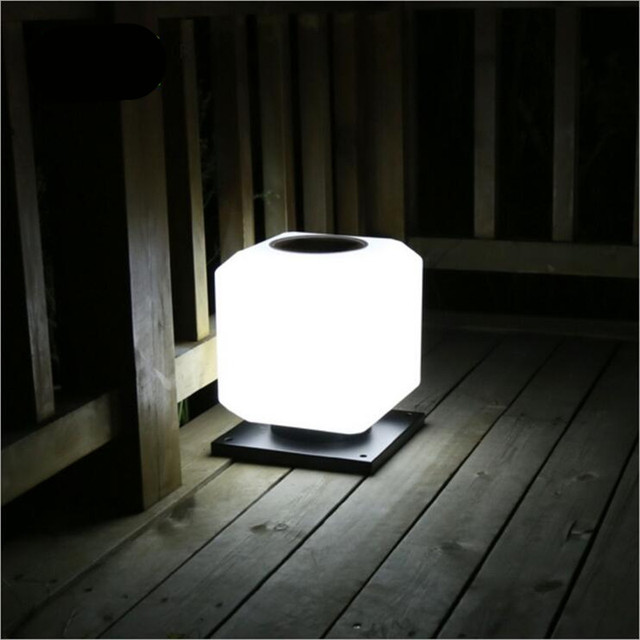 Durable waterproof aluminum acrylic outdoor auto solar lamp for durable waterproof aluminum acrylic outdoor auto solar lamp for gate posts aisle garden durable porch light mozeypictures Image collections