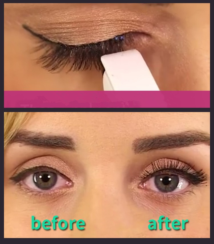 Tesoura de Maquiagem grampeador mini falso falso eye Function : Curl Eyelash Extensions