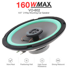 1pcs 4/5/6.5 Inch 100W Car HiFi Coaxial Speaker Vehicle Door Auto Audio Music Stereo Full Range Frequency Speakers for Cars недорого